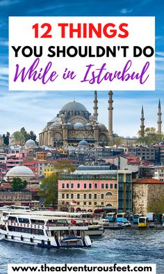 Planning to visit Istanbul? Here are the biggest mistakes to avoid when traveling in Istanbul|Mistakes t avoid in Istanbul |what not to do in Istanbul Turkey|things not to do in Istanbul |biggest mistakes to avoid in Istanbul |travel mistakes to avoid in Istanbul |mistakes to avoid in Turkey |Istanbul travel tips |what not to do in Istanbul| things to know before traveling to Istanbul#travelmistakestoavoidinistanbul #istanbultraveltips #Turkeytraveltips #thingsnottodoinTurkey… Best Cities In Europe, Europe Travel Tips, European Travel, Travel Guides, Travel Destinations, Asia Travel, Istanbul Travel, Visit Istanbul, Cool Places To Visit