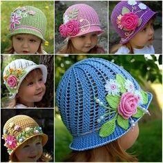 Wonderful Crochet Panama Hats For Girls | Creative Ideas