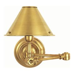 Anette Swing Arm Sconce - Wall Lamps / Sconces - Lighting - Products - Ralph Lauren Home - RalphLaurenHome.com