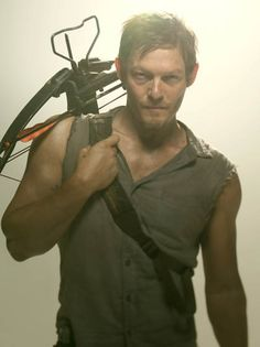 Daryl Dixon....he's just so bad ass.