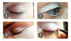 How to: show-stopping neon eyes. #NeonEyes #MakeUp #MakeUpTips
