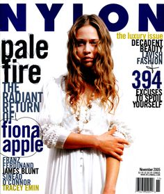 Flash back to 2005 with our cover girl, Fiona Apple