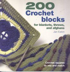 200 Crocheted Blocks for blankets