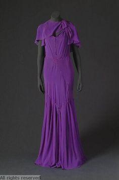 1930-1935 evening dress