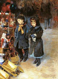 МАКОВСКИЙ ВЛАДИМИР ЕГОРОВИЧ (1846-1920).Дети. 1898