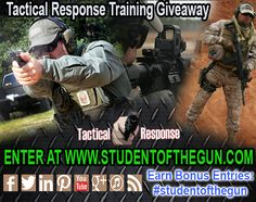 SOTG and Tactical Response partner for Training Giveaway