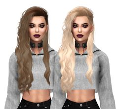 Sims 4 Hairs ~ Kenzar Sims: Simpliciaty`s Starfall Hair Naturals retextured The Sims 4 Pc, Sims Four, Sims 4 Cas, My Sims, Sims Cc, The Sims 4 Cabelos, Best Sims, Sims 4 Gameplay, Free Sims