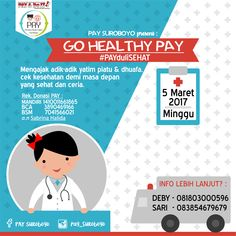 Event Poster PAYHealth - PAY Suroboyo