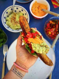 Mexicanske hotdogs med guacamole og tomatsalsa - glutenfrie, low carb og LCHF…