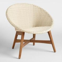 Round All Weather Wicker Vernazza Chairs Set of 2 ~ETS #supercute