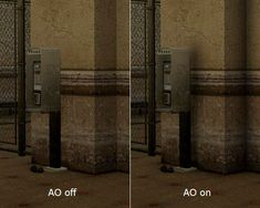 AO on & off 3d Computer Graphics, Ambient Occlusion, The Originals