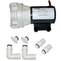 Raritan Diaphragm Intake Pump - 12VDC - https://www.boatpartsforless.com/shop/raritan-diaphragm-intake-pump-12vdc/