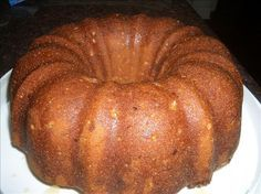 Bourbon Brown Sugar Pound Cake from Food.com:   i think i got this from fine cooking, but i'm not sure as i copied so many magazine recipes to try during this slow week at the office. in any event, with a few adaptions, this was delicious and quite easy to make using my kitchenaid mixer.