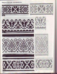 lutik-вязание крючком и спицами: жаккардовые узоры,норвежские узоры,вязание орнаментов спицами,описания,фото,схемы-подборка