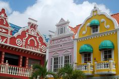 St. Eustatius Island ...I never get tired of seeing these colorful buildings...wish they were everywhere!