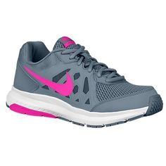 Nike Womens Dart 11 Blue Graphite Pink White Athletic Shoes Size 9