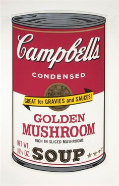 CAMPBELL SOUP -Andy Warhol