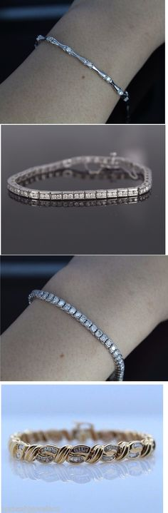 Diamond Tennis Bracelets - Diamond Jewelry - Best Bracelets Collection - Wedding Jewelry - Gifts