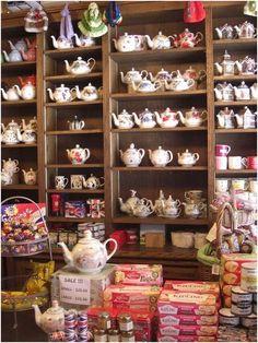 nice tea shop.