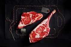 Raw meat on Behance