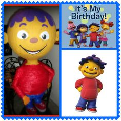 Sid the Science Kid Pinata