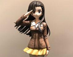 """""""Girls und Panzer der Film"""" Nishi Kinuyo by Kotobukiya painted prototype revealed"""