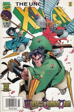 Cover for The Uncanny X-Men (Marvel, 1981 series) #330 [Direct Deluxe Edition]