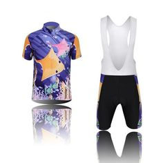 Kids  Sea World Short Sleeve Cycling Jersey Set  Cycling  CyclingGear   CyclingJersey   1384c843d