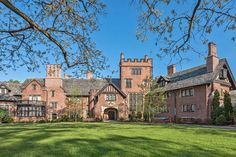 """Goodyear Tire & Rubber Company founder Frank """"F. A."""" Seiberling, his wife, Gertrude, and their family moved into Stan Hywet Hall & Gardens in Akron, Ohio, on Christmas Day 1915. Seiberling sealed deals with business associates in the 64,500-square-foot Tudor Revival mansion over brandy and cigars..."""
