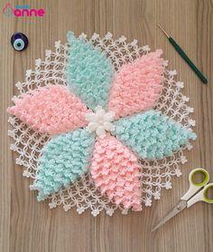 Nusret Hotels – Just another WordPress site Crochet Flower Patterns, Doily Patterns, Baby Knitting Patterns, Crochet Doilies, Crochet Flowers, Hand Knitting, Hand Work Embroidery, Hand Embroidery Designs, Diy Yarn Decor
