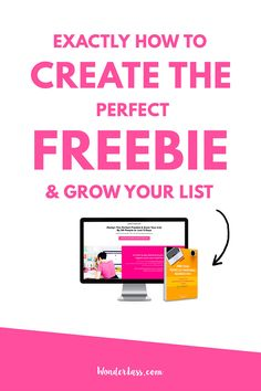 How to Create the Perfect Freebie to Grow Your Email List  #emaillist #freebie
