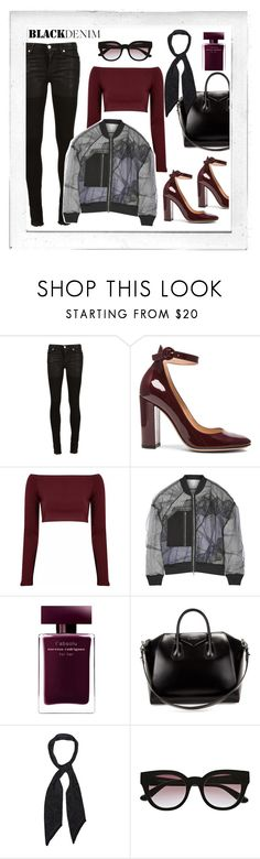 """""""It's not me"""" by aangeles-mendoza ❤ liked on Polyvore featuring Polaroid, Alyx, Gianvito Rossi, Glamorous, 3.1 Phillip Lim, Narciso Rodriguez, Givenchy, Rockins, Witchery and women's clothing"""