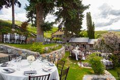 Outdoor woodsy wedding venue. Lake Chelan, WA.  http://benandmolly.com/?p=6582