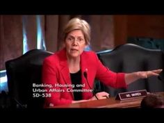 Senator Elizabeth Warren Continues Ruthless Questioning  Of Panelists On...