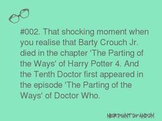 When Harry Potter met Dr. Who