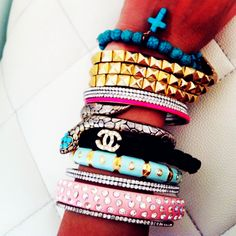 Fantastic Candy Color Bracelets
