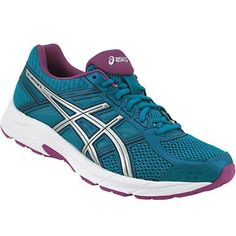 5ef0bf756929 Asics Gel Contend 4 Running Shoes - Womens Silver