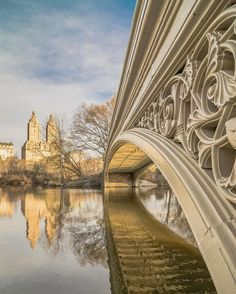 "Noel Y. C. on Instagram: ""Beautiful details of the ornamentation and graceful curve of the Bow Bridge, one of the most photographed and filmed locations in Central Park in New York City. *****************************"
