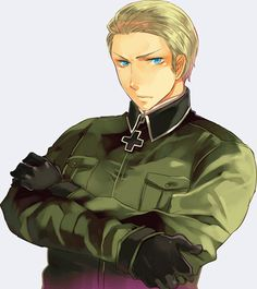 pictures of germany from hetalia Prussia Hetalia, Hetalia Germany, Germany And Prussia, Hetalia Funny, Germany And Italy, Pictures Of Germany, Dennor, Hetalia Characters, Axis Powers