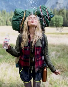 Elle Italia August 2014 | Dree Hemingway by Matt Jones