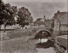 Puente de Panzacola une Villa de Coyoacán con San Ángel