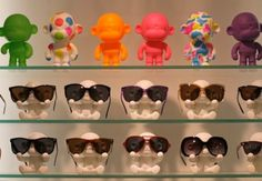 Three Monkeys Eyewear Display