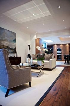 Luxurious open plan kitchen/dining/lounging area - perfect for entertaining…