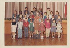 School Portraits, Class Pictures, School Daze, Galveston, Grade 1, Elementary Schools, Golden Rule, History, People