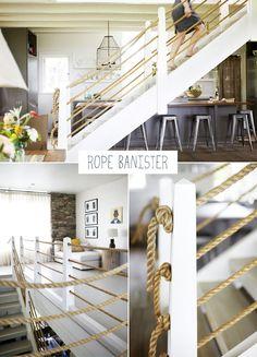 Summer house staircase idea