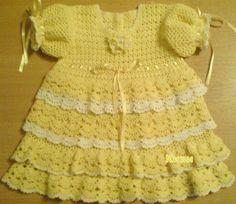 Gallery.ru / Photo # 18 - Baby crochet dress - svetlyachoks