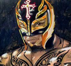 Rey Mysterio by Tony Menchaca #WWE