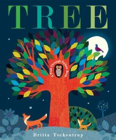 Cover image for Tree : a peek-through picture book