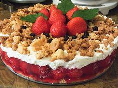 Beste Rezeptesammlung: Erdbeerstreuselkuchen