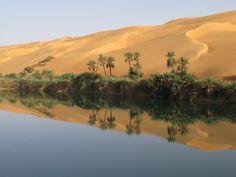 Ubari lakes - Libya picture by Daisy van Groningen.